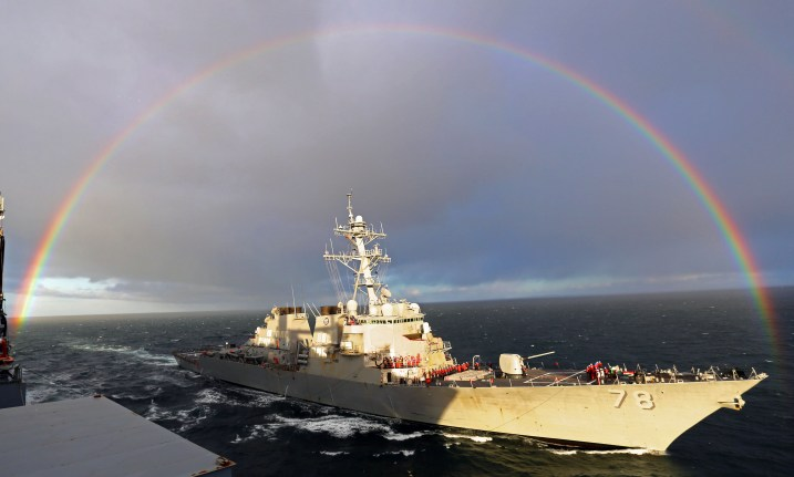 Commander, U.S. Naval Forces Europe-Africa/U.S. 6th Fleet