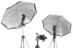 Umbrella-Flash-Reflector
