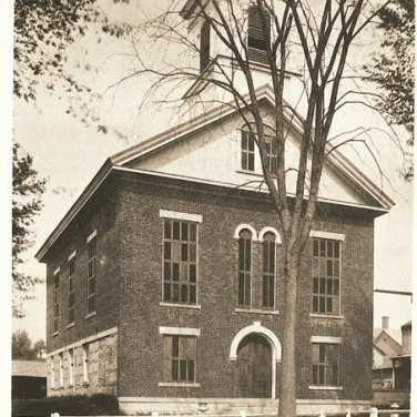 "Lovell, John L., 1825-1903, ""First Baptist Church in Amherst,"" Digital Amherst, accessed July 13, 2017, http://www.digitalamherst.org/items/show/478."