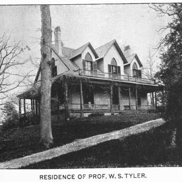 "Lovell, John L., 1825-1903, ""Residence of Professor William S. Tyler in Amherst,"" Digital Amherst, accessed June 14, 2017, http://www.digitalamherst.org/items/show/170."