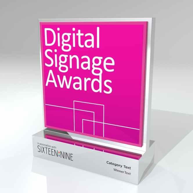 Best digital signage awards