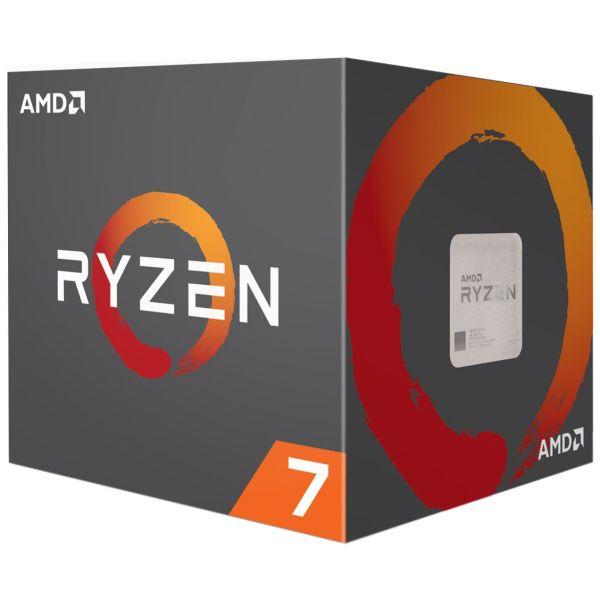 ПРОЦЕСОР AMD RYZEN 7 1700X 8-CORE 3.4 GHZ (3.8 GHZ TURBO), 20MB/95W/AM4/NO FAN