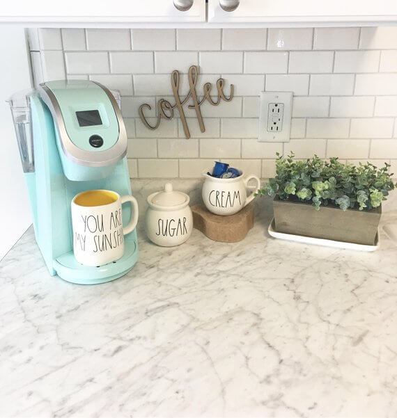 Coffee Station Idea 10