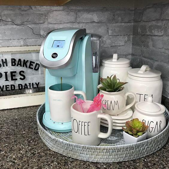 Coffee Station Idea 22