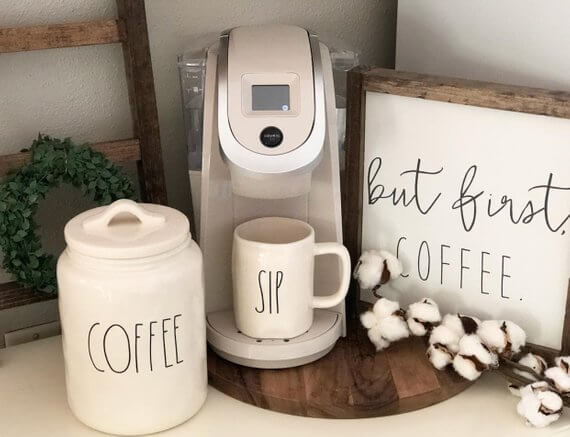 Coffee Station Idea 5