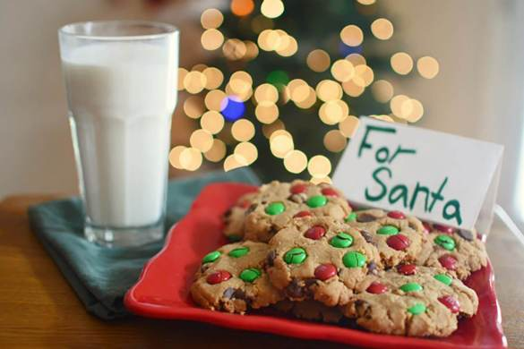 40. Oatmeal Peanunt Butter M&m Chocolate Chip Cookies Christmas Recipe