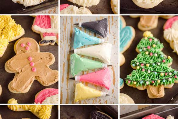84. Old Fashion Sour Cream Cut Out Cookies Christmas
