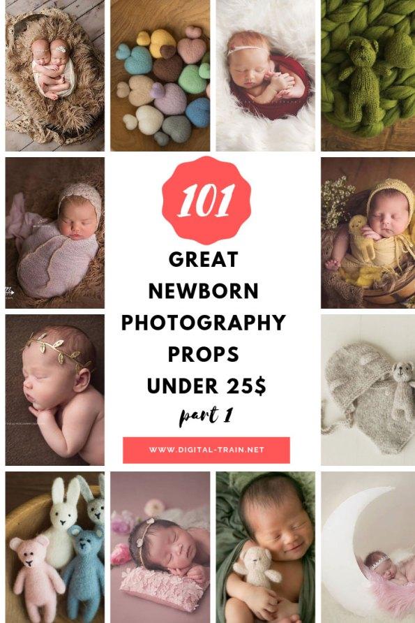 101 Great Newborn Photography Props Under 25$ Part 1   Digital Train