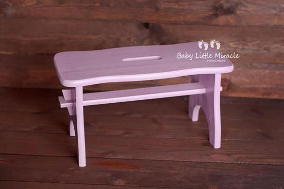 90.newborn Wood Stool Sitter Prop 2