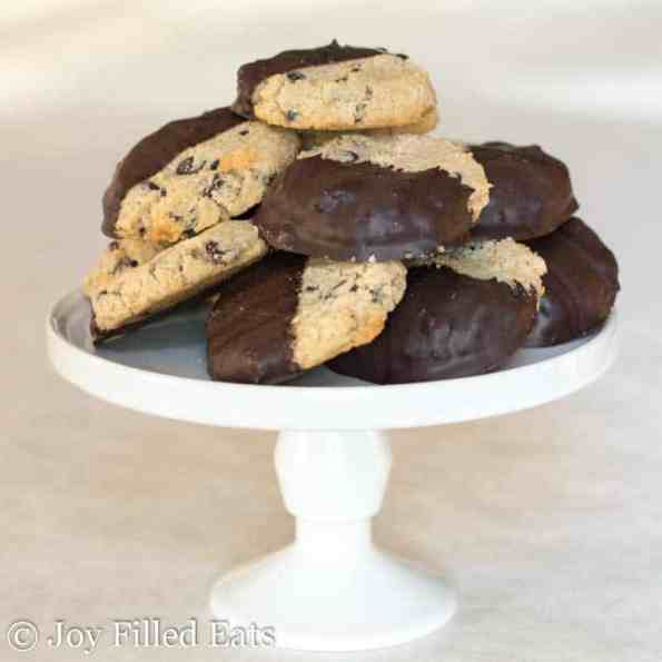 11. Keto Low Carb Chocolate Chip Shortbread Cookies
