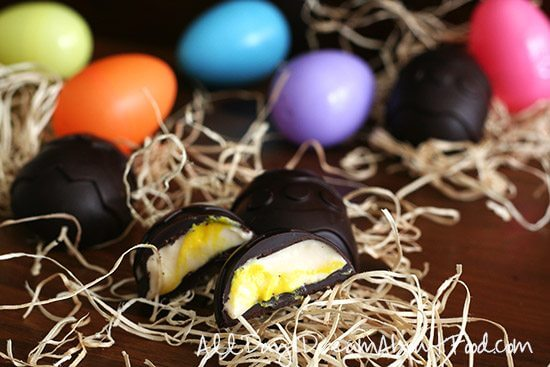 16. Copycat Easter Cream Eggs – Low Carb And Gluten Free