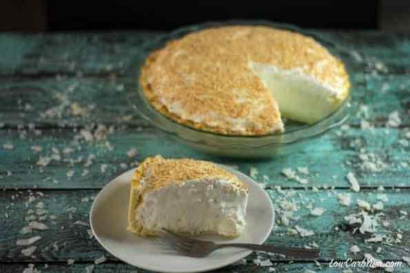 19. Low Carb Keto Coconut Cream Pie
