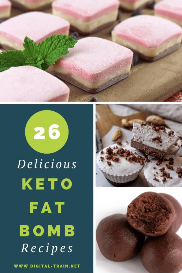 26 Deliciois Keto Fat Bomb Recipes Digital Train
