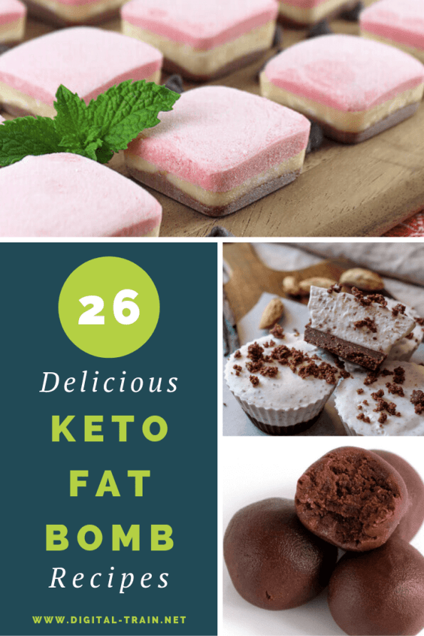26 Deliciois Keto Fat Bomb Recipes Digital Train