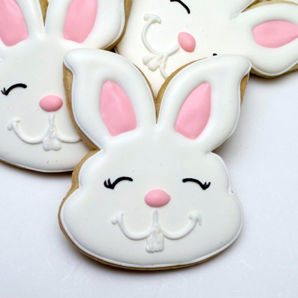3. Decorated Cookies Easter Rabbits