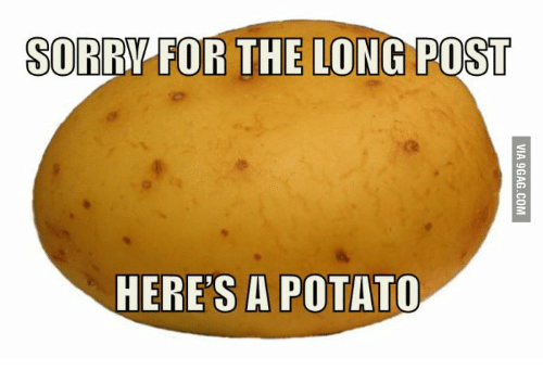Sorry For The Long Post Heres A Potato 14024311