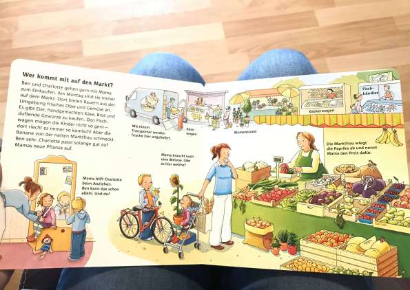 Children Books Day To Day Life At The Supermarket