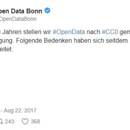Open Data-Erkenntnisse aus Deutschland