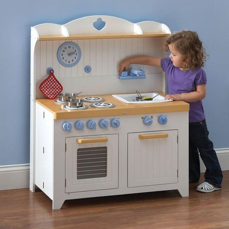 Young Chef Foldaway Kitchen Playset Hammacher Schlemmer