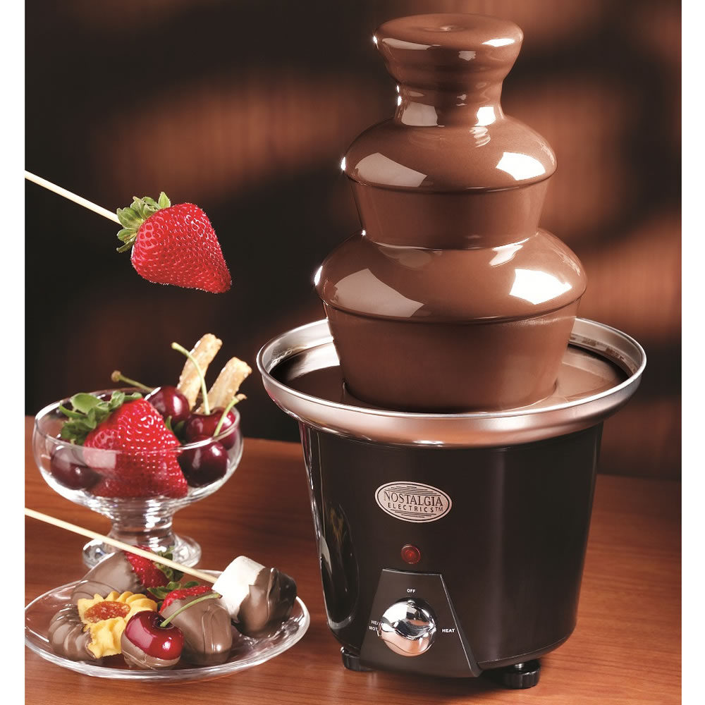 Image result for chocolate fountain
