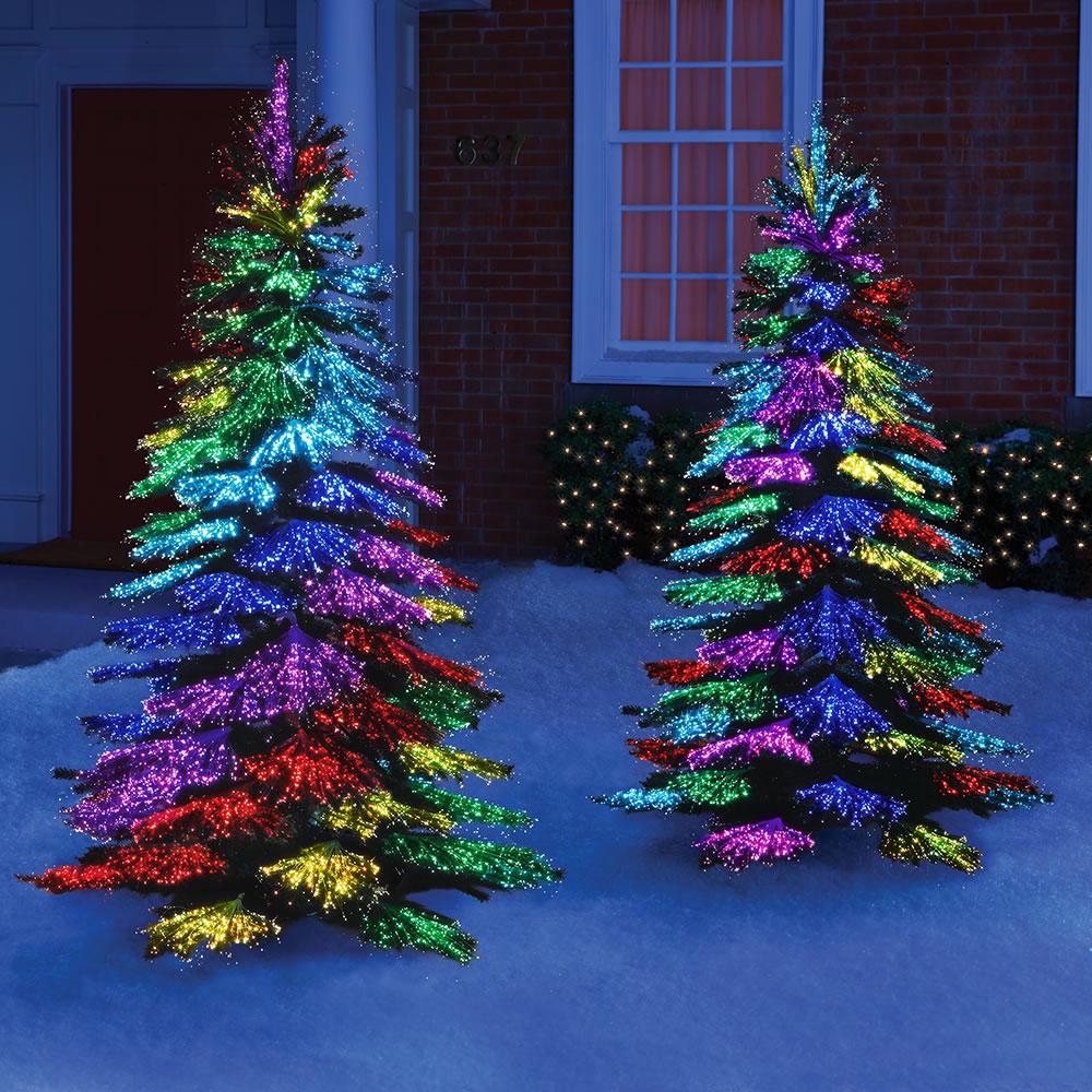 The Thousand Points Of Light Tree Hammacher Schlemmer