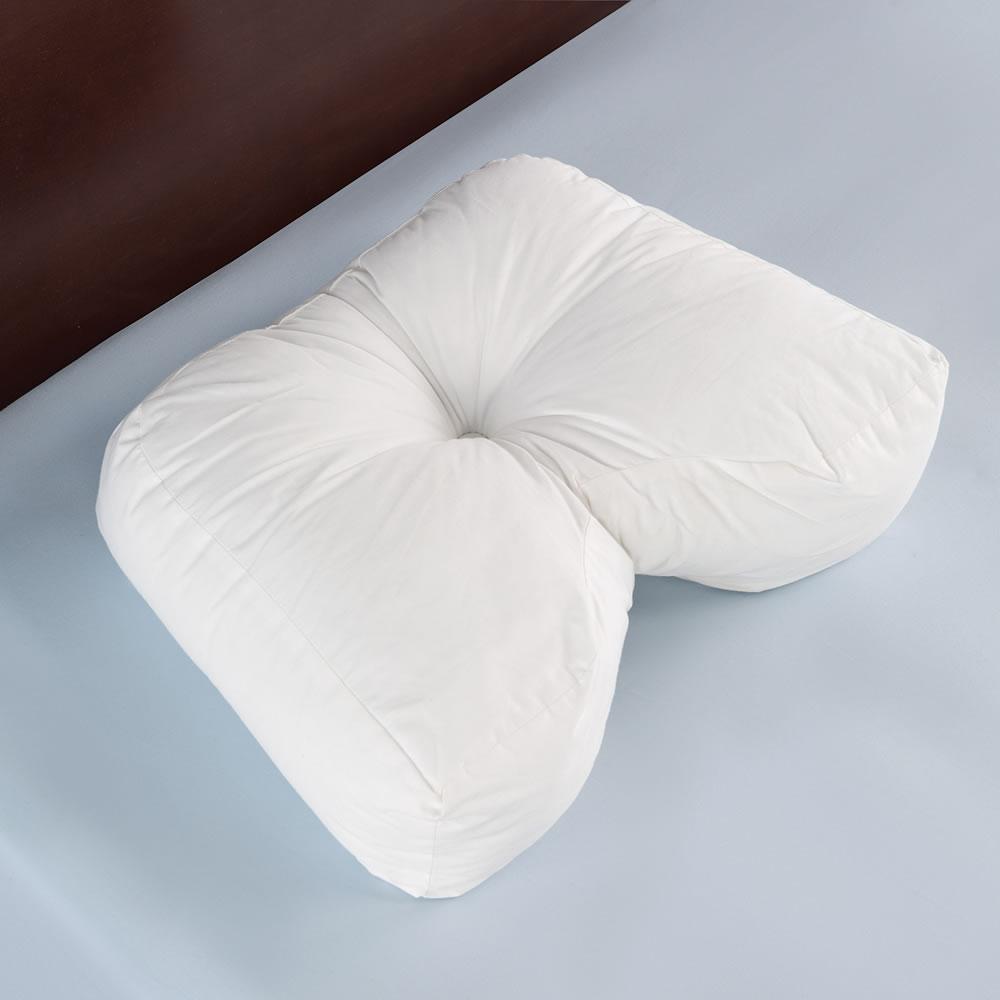 the ergonomic side sleeper pillow