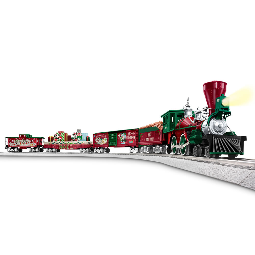 The Animated Disney Christmas Train Hammacher Schlemmer