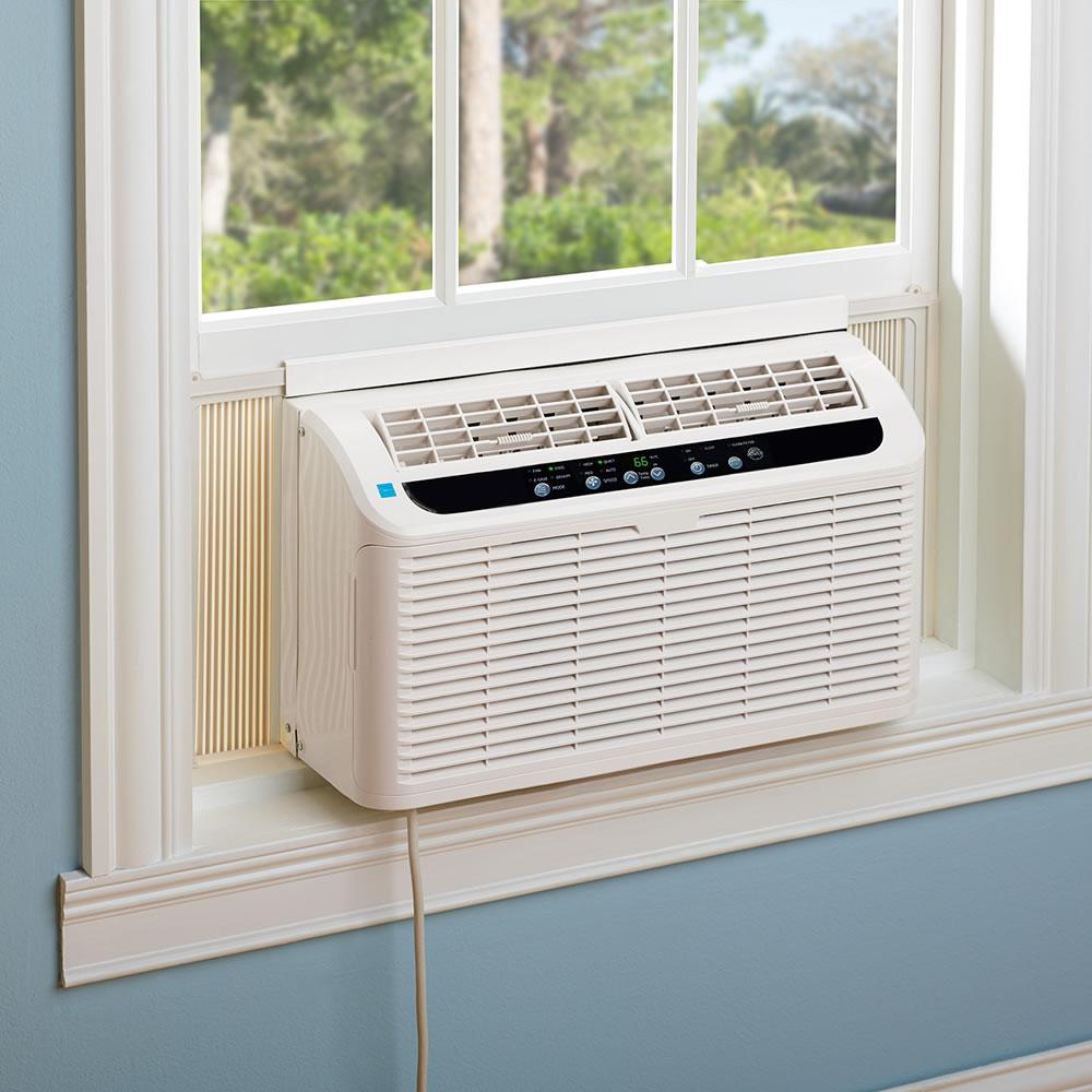 The Quiet Window Air Conditioner Hammacher Schlemmer