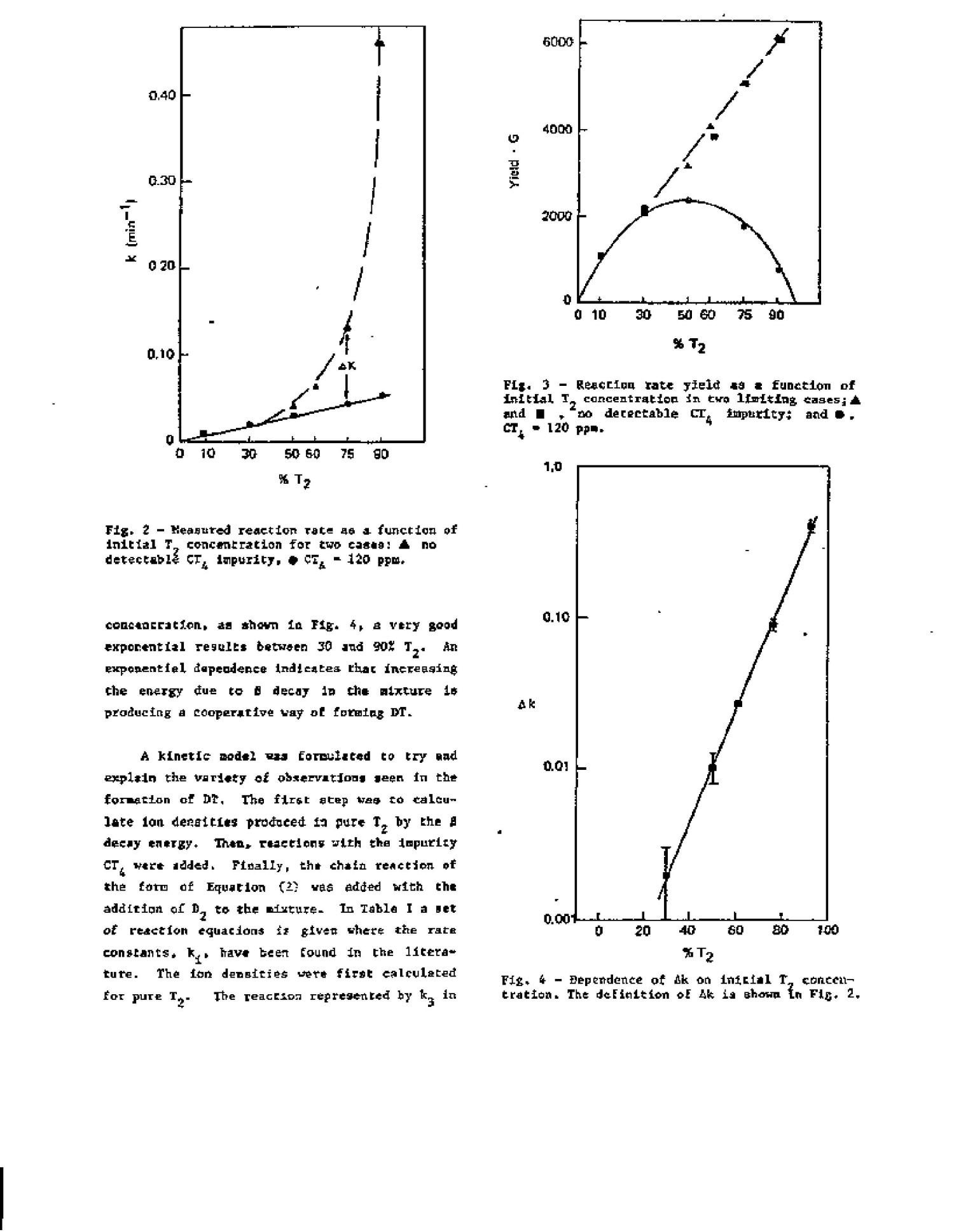 Reaction Rates For The Formation Of Deuterium Tritide From