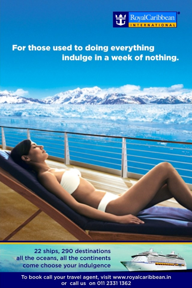 Indulge in Nothing - Royal Caribbean International Campaign Ad