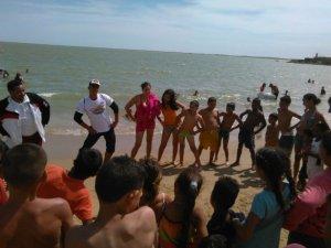 Temporadistas en la Isla San Carlos disfrutaron de la Jornada Carnavales «A Toda Vida con Prevención 2017»