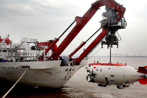China crea un barco no tripulado para salvar vidas