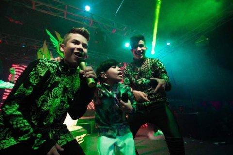 DJT y Anabella encendieron el escenario de Expo Mundo Kids