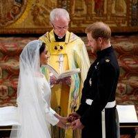 El príncipe Enrique y Meghan Markle ya son marido y mujer