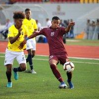 La «Vinotinto» Sub-17 empató en su debut ante Ecuador