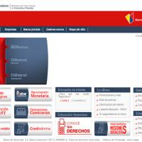 Plataforma del Banco de Venezuela presenta fallas este jueves