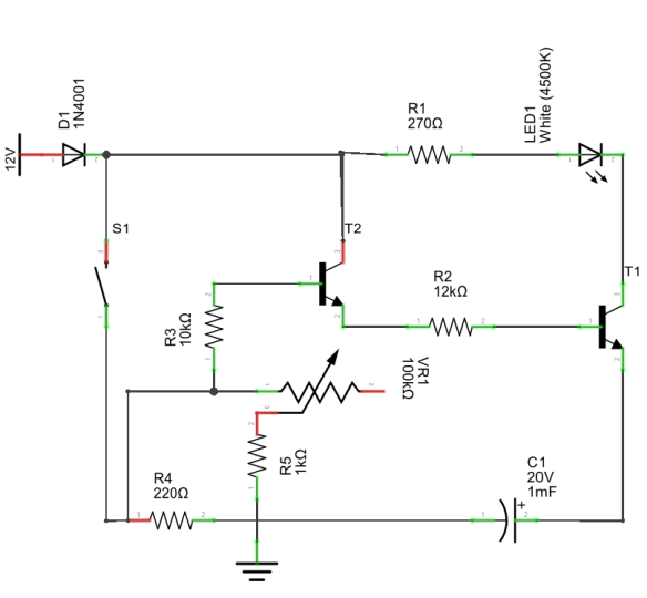 simple 2 minute timer circuit for your diy digital lab