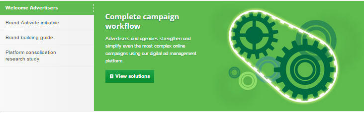 DoubleClick Advertisers Screenshot