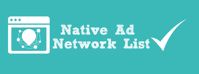 Native Ad Network List