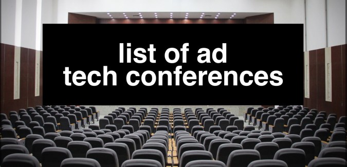 Ad Tech conference 2020