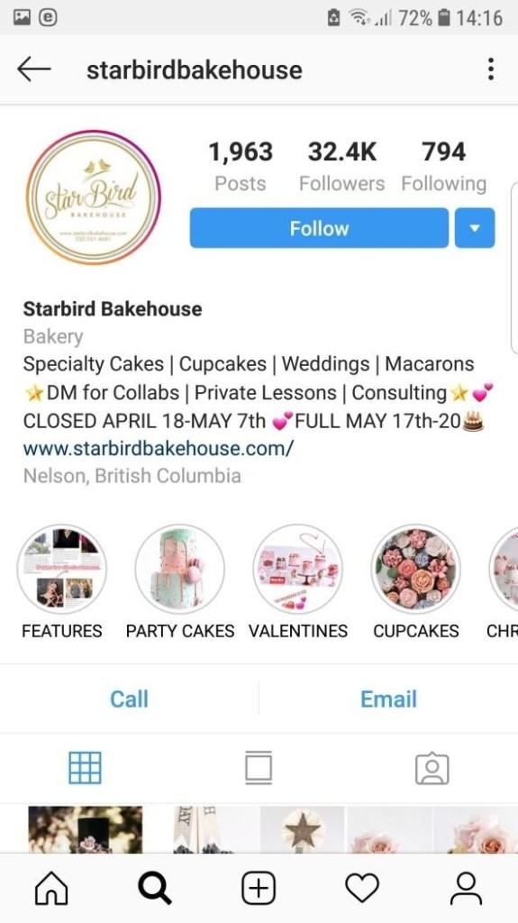 availability status instagram bio