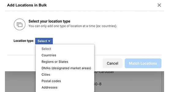checking-options-for-loading-locations-in-bulk