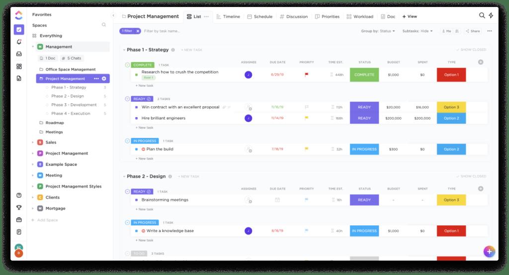 clickup-project-management
