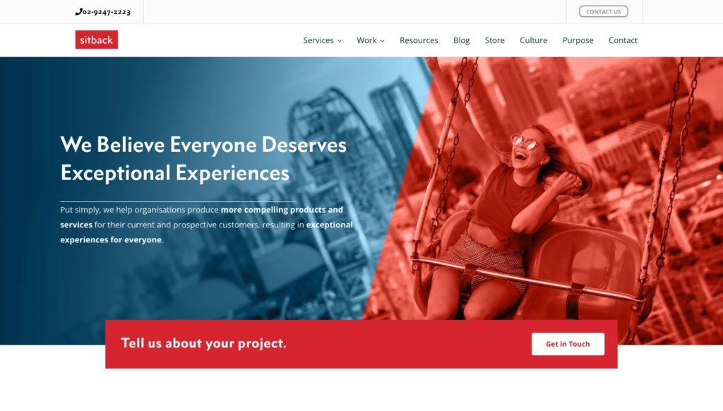 digital marketing agencies for food and beverage in Australia Sitback