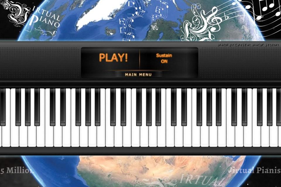 online piano app virtual piano. Black Bedroom Furniture Sets. Home Design Ideas