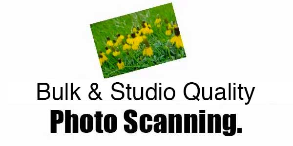 Bulk and Studio Quality photo scanning regina