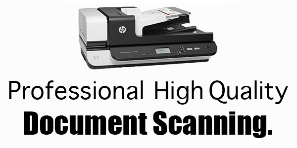 Professional Quality Document Scanning Regina