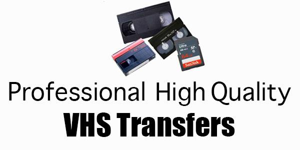 Professional VHS transfers Regina