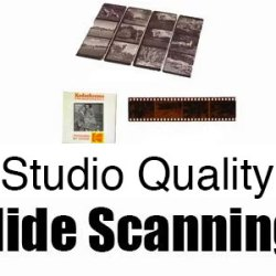 Studio Quality slide scanning Regina