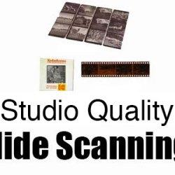 Studio Quality slide scanning Regina